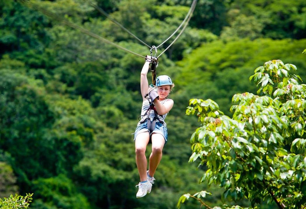 Những đường trượt zipline đầy cảm giác mạo hiểm tại Madagui